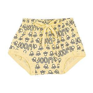 Cobre Fralda Patinhas Infantil Amarelo