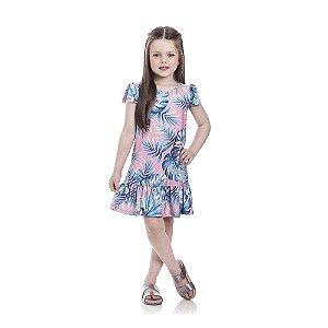 Vestido Floral Tucano Infantil Menina
