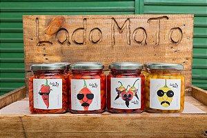 kit 4 pimentas
