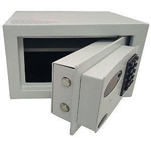 Cofre Digital Eletrônico Personal com LED e Sistema de Auditoria