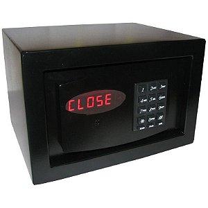 Cofre Eletrônico Digital  7 Senhas e Auditoria Personal Black