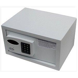 Cofre Eletrônico Office Escritório cadastra 7 usuários com Auditoria c/ Luz de Led interna