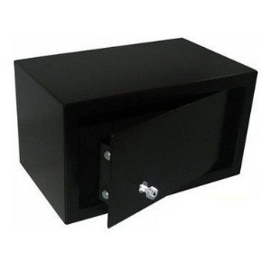 Cofre Office Black com Chave Multi-Ponto - Cofres Gold Safe