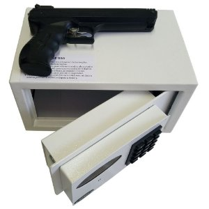 Cofre Digital Eletrônico para Armas Box Senha e abertura automática C/ Sistema de Auditoria