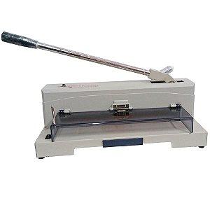 Guilhotina Semi Profissional Corte 370mm 150 Folhas c/ Lampada