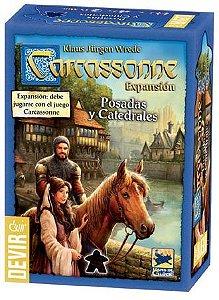 Carcassonne - Expansão Pousadas e Catedrais