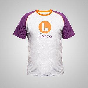 D - Camiseta Manga Curta - Ensino Médio - Uniforme Luminova