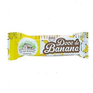 Doce de Banana Orgânica em Barrinha – 30grs. Caixa c/ 24 Unidades
