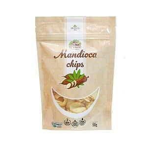 Chips de Mandioca Orgânica – 40grs.
