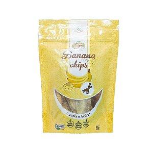 Chips de Banana Doce Orgânica – 50grs.