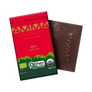 Chocolate Orgânico AMMA 60% Cacau – 30grs.