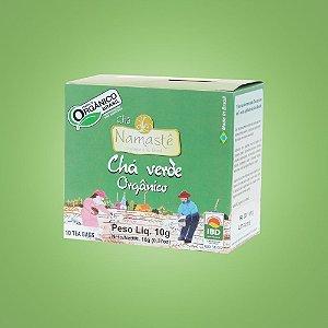 Chá Verde Orgânico – 10 sachês.