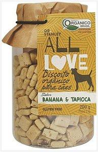 Biscoito Orgânico Banana e Tapioca – 200grs.