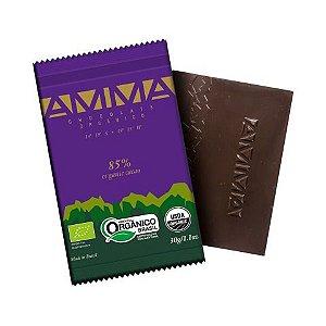 Chocolate Orgânico AMMA 85% Cacau – 30grs.