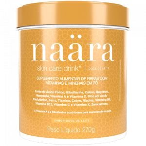 Naara Skin Care Drink - Sabor Doce de Leite - 270grs.