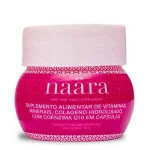 Naara Hair and Nails - 30 cápsulas.