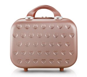 Frasqueira de Viagem Love Rosê Gold Jacki Design - AHZ20935