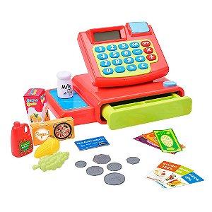 Caixa Registradora Hora das Compras DM TOYS - DMT5962