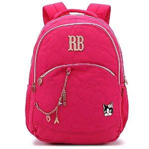 Mochila Metalassê Rebeca Bonbon Rosa - RB2037