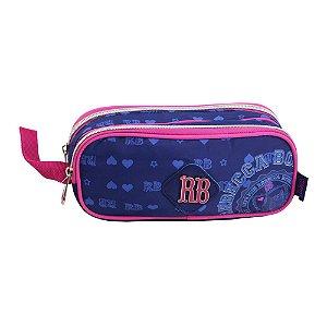 Estojo Duplo Rebecca Bonbon Azul - RB7185