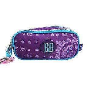 Estojo Duplo Rebecca Bonbon Roxo - RB7185