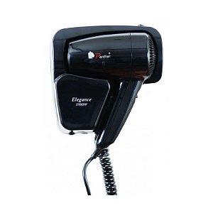 Secador de Cabelo de Parede Antifurto KMY67250 Black 1500w