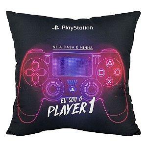 Almofada Porta Controle Playstation Clássico