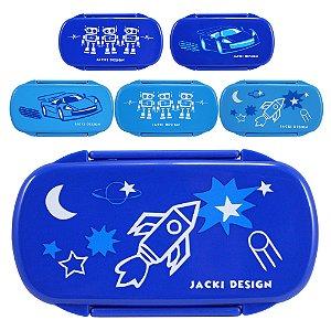 Pote para Lanche Infantil Menino (Sapeka) Jacki Design - AGD17530