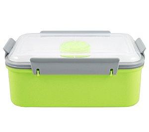 Pote para Marmita com 3 Compartimentos + Pote para Molho 1400ml Jacki Design AWM17223