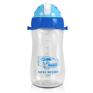 Garrafa Squeeze Infantil Menino 460ml Sapeka Jacki Design - ATB17528