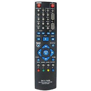 CONTROLE REMOTO BLU-RAY LG SKY 7459