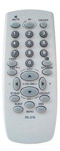 CONTROLE REMOTO TV CCE RC-210TV / HPS2971 / HPS2171