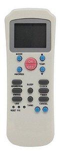 CONTROLE REMOTO AR CONDICIONADO SPRINGER/CARRIER MAXIFLEX R14A/CE