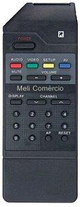CONTROLE REMOTO TV GRADIENTE