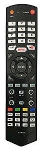 CONTROLE REMOTO TV LCD / LED SEMP TOSHIBA CT8063