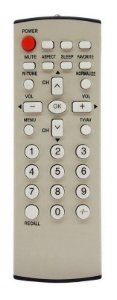 CONTROLE REMOTO TV PANASONIC EUR7717040P / TC-21FX30L / TC-21FX32L / TC-29FX32L