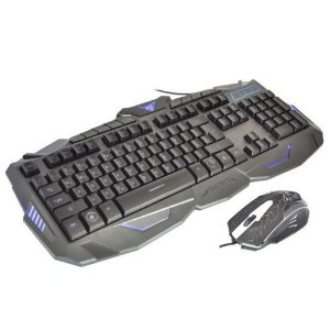 TECLADO GAMER E MOUSE V-100 SUPER XBLASTER