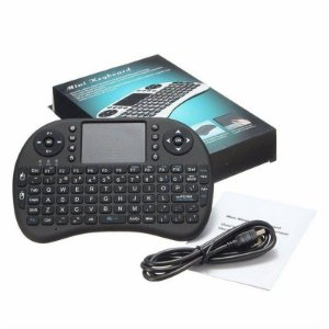 MINI TECLADO WIRELESS KEYBOARD SEM FIO MOUSE TOUCHPAD