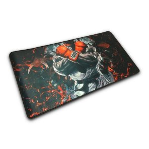 MOUSEPAD GAMER GRANDE EXBOM 70X35CM - STREET FIGHTER RYU