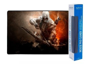 MOUSEPAD GAMER GRANDE EXBOM 70X35CM - ASSASSIN'S CREED