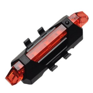 LANTERNA BIKE SINALIZADOR LED USB DC-918