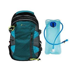 Mochila Esportiva com Bolsa de Hidratação 2 Litros YS29013 Yin's