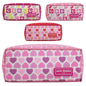 Estojo Necessaire Escolar Infantil Menina Sapeka Jacki Design - AHL17525