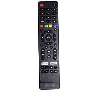 Controle Lcd Philco 4k Netflix/youtube - Sky-8089