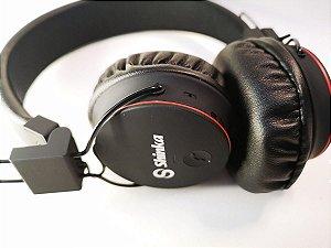 Fone de Ouvido Headphone Bluetooth FM MicroSD Solid Bass Shinka - SH-X2