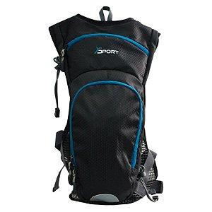 Mochila Esportiva com Bolsa de Hidratação YS29015 Yin's
