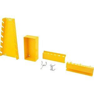 Jogo de acessórios 24 pçs para painel porta ferramentas metálico Vonder - 61.99.024.000