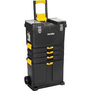 Caixa plástica com rodas CRV 0500 Vonder - 61.05.050.000