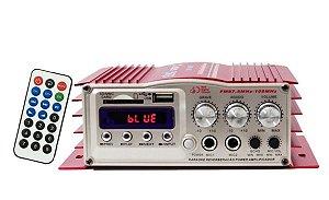 Mini Módulo Amplificador Som 10w RMS Rádio - LE-702