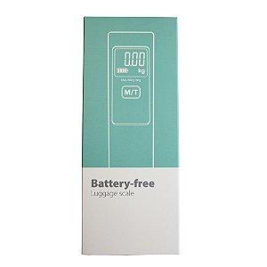 Balança para Mala (Não utiliza pilhas nem baterias)